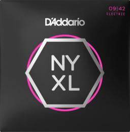 D'Addario NYXL0942 Nickel Wound Electric Guitar Strings (Super Light Gauge)