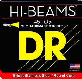 DR Strings MR-45 Hi-Beam Stainless Steel Medium Bass Guitar Strings