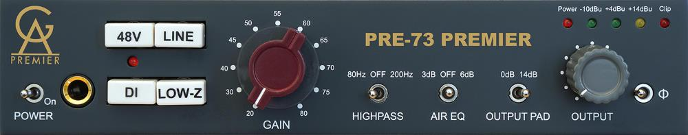 Golden Age Project Pre-73 Premier Microphone Preamp