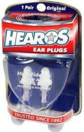 Hearos High Fidelity Musician's Ear Plugs
