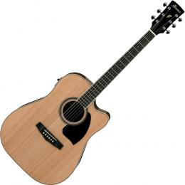Ibanez PF15ECE 6 String Acoustic-Electric Guitar
