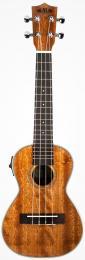 Kala KA-CGE Gloss Mahogany Concert Acoustic-Electric Ukulele