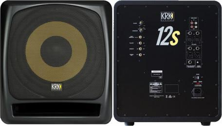 "KRK 12s2 12"" Powered Studio Subwoofer"