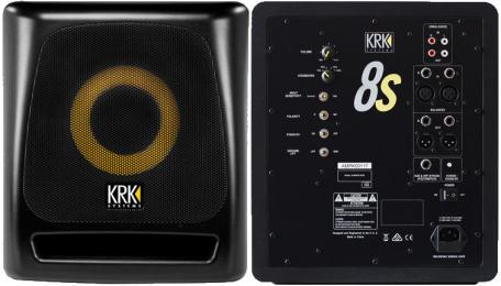 "KRK 8S2 8"" Powered Studio Subwoofer"