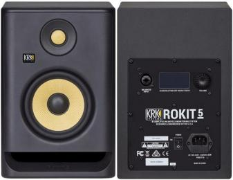 "KRK ROKIT 5 G4 5"" Powered Studio Monitor"