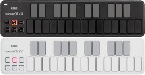 Korg nanoKEY2 25-key USB MIDI Controller Keyboard