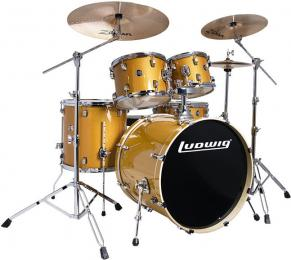Ludwig Element Evolution LCEE220 - Gold Sparkle
