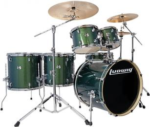 Ludwig Element Evolution LCEE6220 - Emerald Sparkle