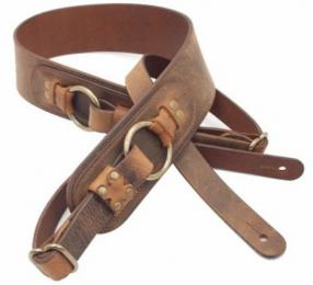 LM Products Odin Viking Series Leather Guitar Strap