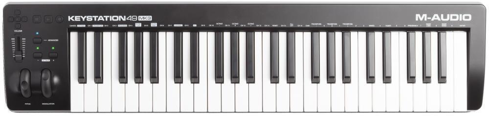 M-Audio Keystation 49 MK3 49-Key MIDI Keyboard Controller