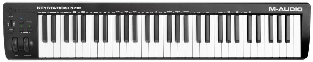 M-Audio Keystation 61 MK3 MIDI Keyboard Controller