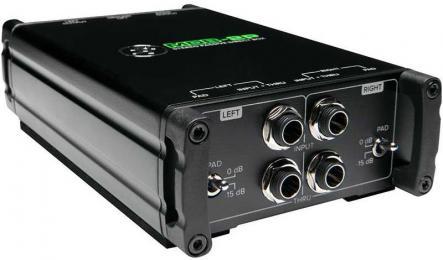 Mackie MDB-2P Stereo Passive DI Box