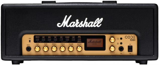 Marshall Code 100H Modeling Amp Head