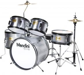 "Mendini MJDS-5 Acoustic Junior Drum Set w/ 16"" Kick"