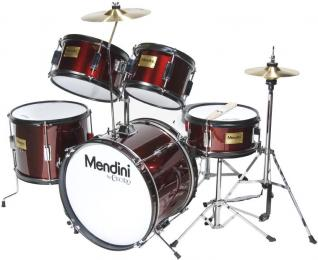 Mendini MJDS-5 Acoustic Junior 5-Piece Drum Set