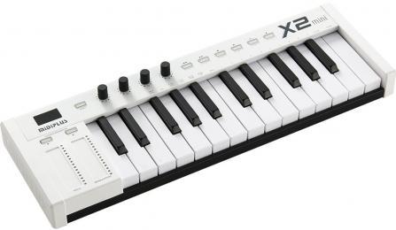 MidiPlus X2 Mini 25-key MIDI Controller Keyboard