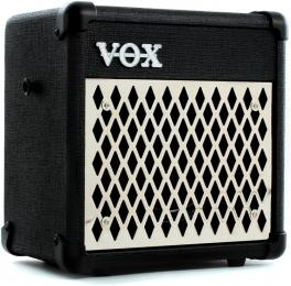 Vox Mini5 Rhythm Battery-Powered Combo Guitar Amplifier 5W
