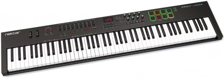 Nektar Impact LX88+ MIDI Controller Keyboard