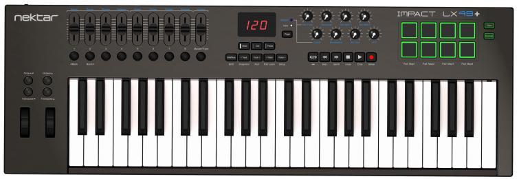 Nektar Impact LX49+ 49-Key MIDI Keyboard Controller
