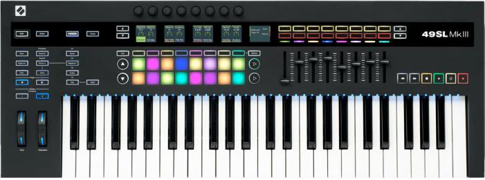 Novation 49SL MkIII 49-Key MIDI Controller Keyboard