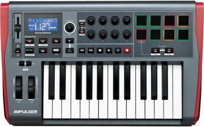Novation Impulse 25 Key MIDI Controller With Pads