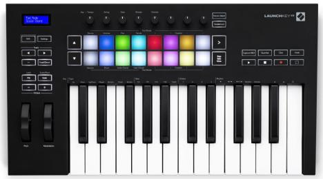 Novation Launchkey 25 MK3 25-key MIDI Keyboard Controller