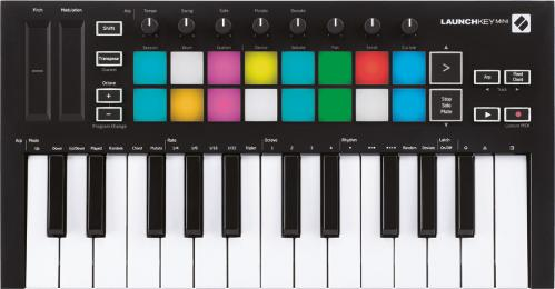 Novation Launchkey Mini mk3 25-key MIDI Keyboard Controller