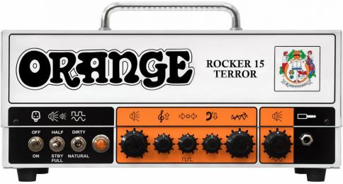 Orange Amplifiers Rocker 15 Terror Guitar Tube Amp Head - 15-Watts
