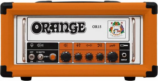 Orange Amplifiers OR15H 15W Compact Tube Guitar Amp Head