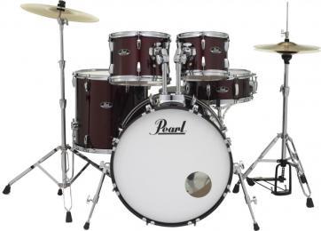 """Pearl Roadshow RS525SC/C 5-Piece Acoustic Drum Set w/ 22"""" Kick"""