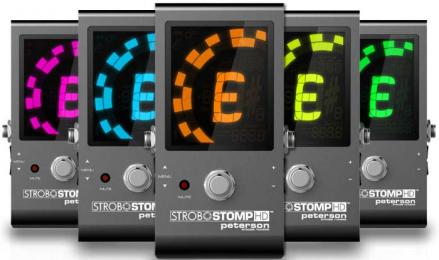 Peterson StroboStomp HD Pedal Tuner