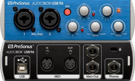 PreSonus AudioBox USB 96 2-Channel Audio Interface