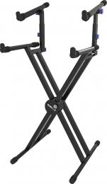 Quik-Lok QL-742 Double Tier Keyboard Stand