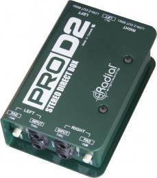 Radial ProD2 2-channel Passive Instrument DI Box