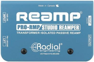 Radial ProRMP Passive Re-Amping DI Box