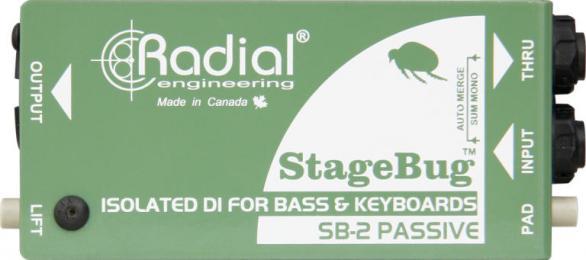 Radial StageBug SB-2 1-Channel Passive DI Box