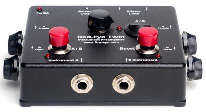 Fire-Eye Red-Eye Twin Instrument Preamp