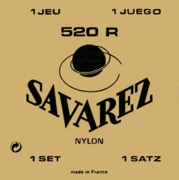 Savarez 520R Rectified Nylon High Tension Classical Guitar Strings