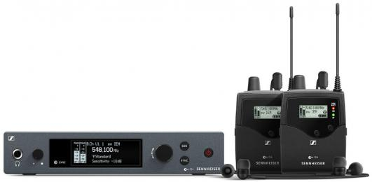 Sennheiser EW IEM G4-TWIN Wireless In-Ear Monitoring System