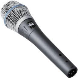 Shure BETA87C Cardioid Handheld Condenser Microphone
