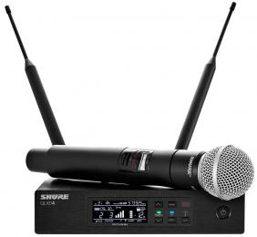 Shure QLXD24/SM58 Digital Wireless Handheld Microphone System