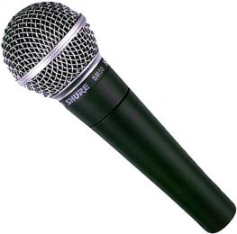 Shure SM58 LC Handheld Vocal Dynamic Microphone