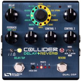 Source Audio SA263 Collider Delay+Reverb Pedal