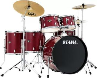 "Tama Imperialstar IE62C 6-piece Complete Drum Set w/ 22"" Kick Drum"