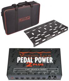 Voodoo Lab Dingbat Medium Powered Pedalboard Package with Pedal Power 2 Plus