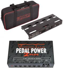 Voodoo Lab Dingbat Small Powered Pedalboard Package with Pedal Power 2 Plus