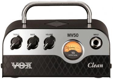 Vox MV50 Clean 50-watt Hybrid Tube Guitar Amp Head