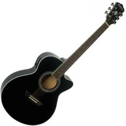 Washburn Festival EA12-B 6 String Acoustic-Electric Guitar
