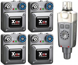 Xvive Audio U4R4 Wireless In-Ear Monitoring System