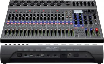 Zoom LiveTrak L-20 Multitrack Recorder